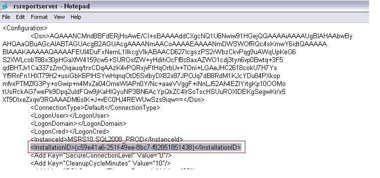 report server cannot decrypt the symmetric key | coresql com